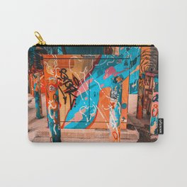 Colorful Streets of Wynwood Carry-All Pouch