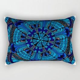 Mandala Ocean Rectangular Pillow