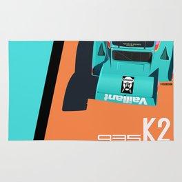 1977 935 Kremer K2 - DRM Nürburgring - Bob Wollek Winner Rug