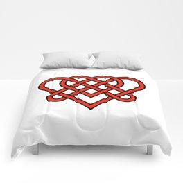 Celtic He Loves Me He Loves Me Knot Comforters
