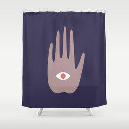 hamsa IV Shower Curtain