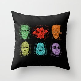 Old Grotesque Throw Pillow