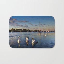 Graceful Swans  Bath Mat