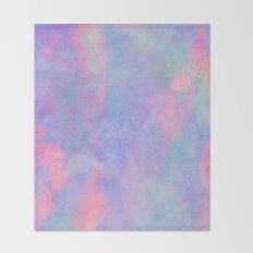 Summer Sky Throw Blanket