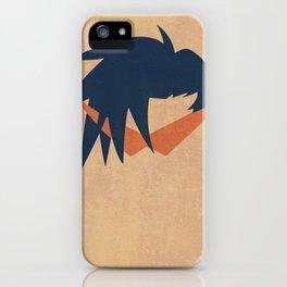 Minimalist Kamina iPhone Case