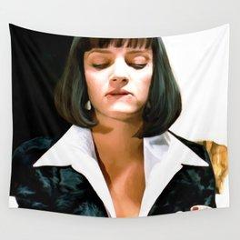 Uma Thurman @ Pulp Fiction Wall Tapestry