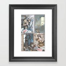 Unfair Adoption Framed Art Print