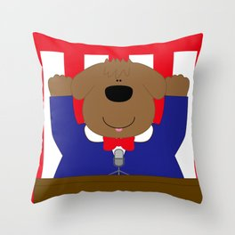 Banzai  Throw Pillow
