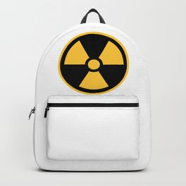 Nuclear Logo Symbol Backpack