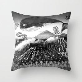 Bromo Throw Pillow