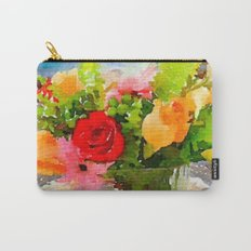 Mother's Day Bouquet Carry-All Pouch