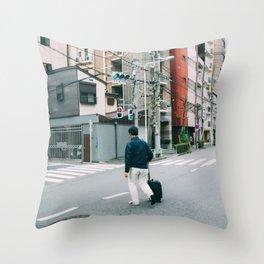 Tokyo 81 Throw Pillow