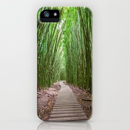 Bamboo Forest Trail - Photoart iPhone Case