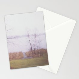 Wintry Lake Stationery Cards