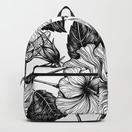 Hibiscus flower II Backpack