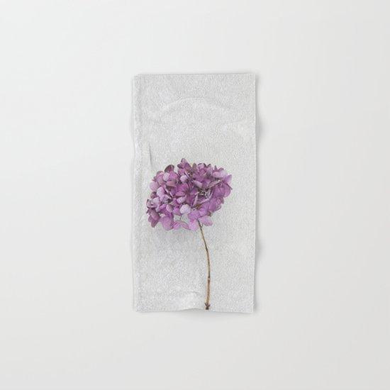 Purple Hydrangea Hand & Bath Towel