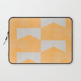 Yellow Contamination 8 Laptop Sleeve