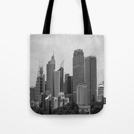Retro Skyline Tote Bag