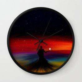 Void King Wall Clock