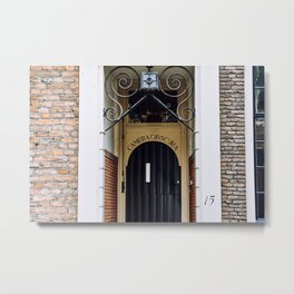 Camera obscura | art at a wall in Utrecht city | Dutch photography | architecture in the Netherlands Metal Print
