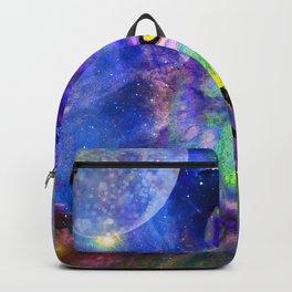 NEBULA WOLF OF MY DREAMS VIOLET BLUE Backpack