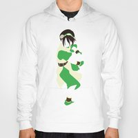 airbender Hoodies featuring Toph by JHTY