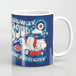 Soul Scoot Subway Soul by Dawn Carrington Coffee Mug