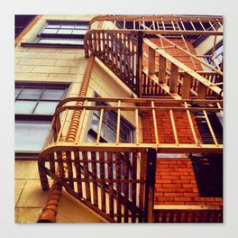 Day Two: Look Up & Escape Canvas Print