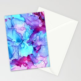 Parrot Tulips in the Wind by Studio 1153 Stationery Cards