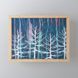 Frost Bite Framed Mini Art Print