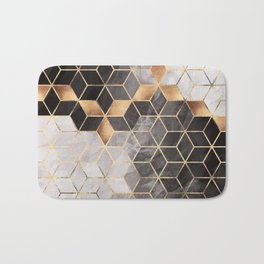 Smoky Cubes Bath Mat