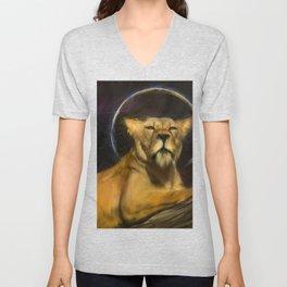 royal lion Unisex V-Neck