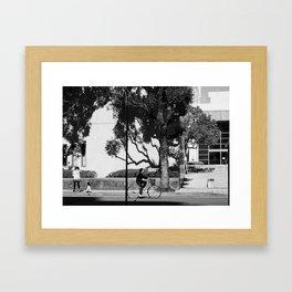 3 in the Sun Framed Art Print