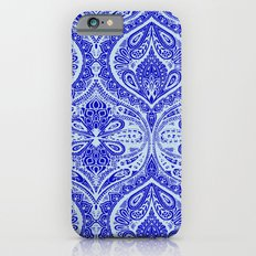 Simple Ogee Blue iPhone 6s Slim Case