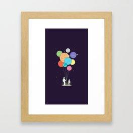 Space Gift Framed Art Print