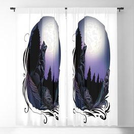 Howling Wolf (Signature Design) Blackout Curtain