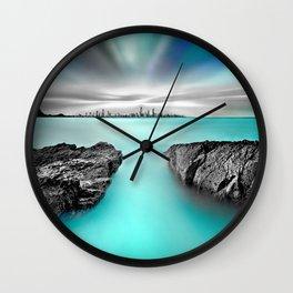 Quantum Divide Wall Clock