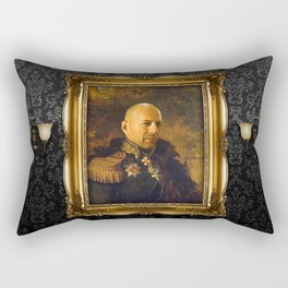 Bruce Willis - replaceface Rectangular Pillow