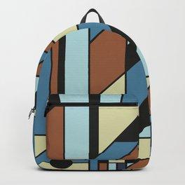 De Stijl Abstract Geometric Artwork 3 Backpack