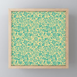 Flora Pattern Twelve Framed Mini Art Print