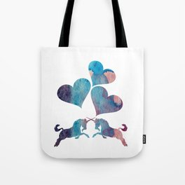 Unicorn Art Tote Bag
