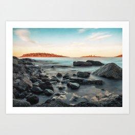 Rocky Northern Islands Art Print
