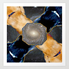 hoover galaxy Art Print