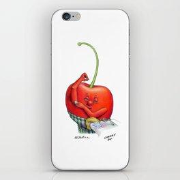 Cherry Pit iPhone Skin