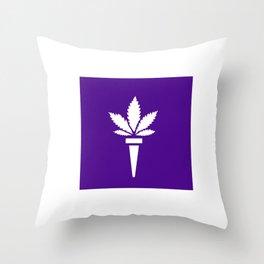 pot420@nyu.edu Throw Pillow