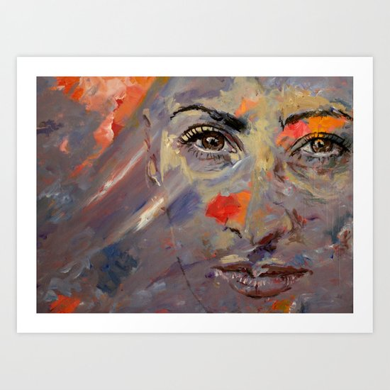 Berrin Art Print