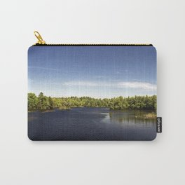 Scenic Maine Lake Carry-All Pouch