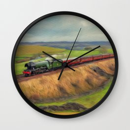 The Flying Scotsman Locomotive Wall Clock