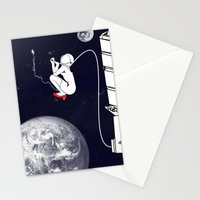Pee on the space! Stationery Cards