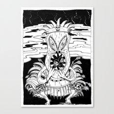 Tiki lunch Canvas Print